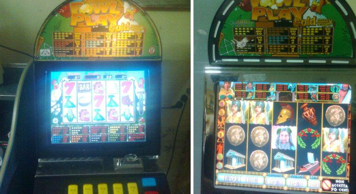 macchinette sequestro slot machine