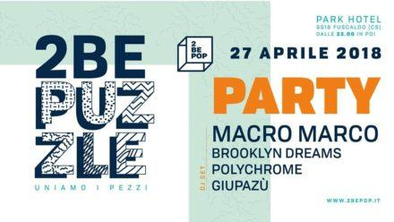 Party 2be POP @ Park Hotel | Calabria | Italia