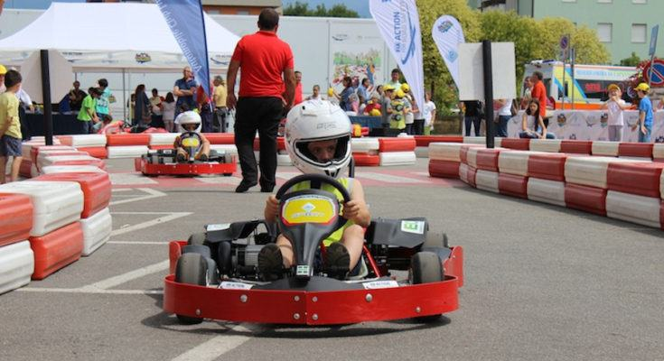 karting in piazza Cosenza
